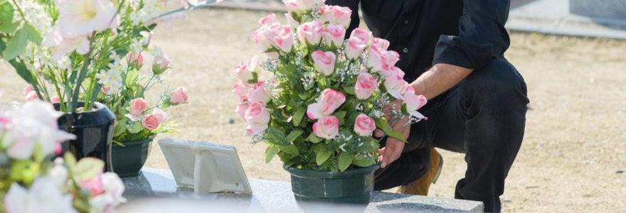 bouquet de deuil